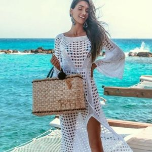 🆕Listing! Knitted Beach Cover Up